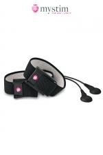 Kit électro-stimulation Charming Chuck - Mystim - Stimulateur MyStim par impulsions électriques pour le pénis et / ou les testicules.