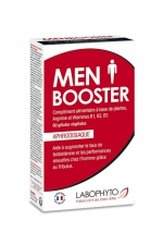 Men booster (60 gélules) - Complément alimentaire aphrodisiaque qui stimule le désir sexuel chez l'homme.