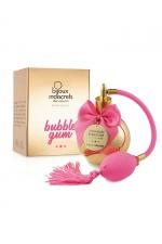 Parfum aphrodisiaque Bubble Gum - Parfum sans alcool, arôme Bubble Gum intense et distrayant, applicable sur toutes les parties du corps, même les plus intimes.