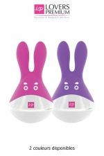 O-bunny stimulateur clitoridien - Un sextoy Fun, ludique, puissant et rechargeable, avec un look de personnage de dessin animé.