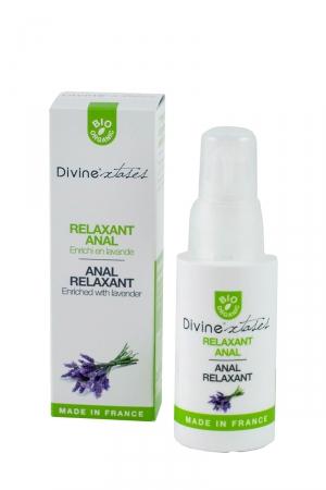 Relaxant Anal - Divinextases - Douceur et détente sont indissociables d'une sodomie réussie...ce relaxant anal vous garantit un plaisir total.