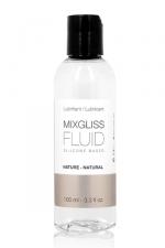 Mixgliss silicone - Fluid Nature 100ml - Des sensations magiques avec un lubrifiant intime soyeux au pouvoir extra glissant, à base de silicone.