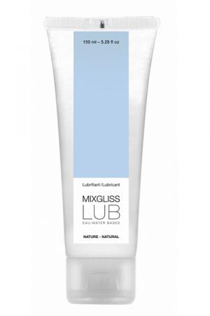 Mixgliss eau - Lub Nature 150ml - Une valeur sûre pour ce lubrifiant nature à base d'eau à l'excellent rapport qualité/prix!