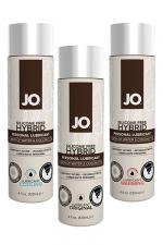 Lubrifiant Jo hybrid sans silicone - 120 ml - A base d'eau et d'huile de noix de Coco, ce lubrifiant hybride est un Must Have de la marque System Joe.