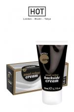 Backside anal relax cream - 50 ml - Crème Relaxante et décontractante spécialement formulée pour la pratique du sexe anal.