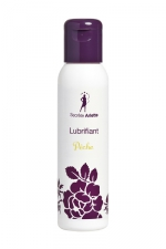Lubrifiant parfum Pêche - Gel lubrifiant intime à base d'eau aromatisé Pêche, par Secrète Arlette.