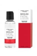 Mixgliss silicone - Rose velours - 50ml - Fluide 2 en 1 massage et lubrifiant riche en silicone, parfum rose velours.