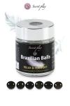 6 Brazillian balls relax & confort - La chaleur du corps transforme la brazilian ball en liquide apportant plus de confort, votre imagination s'en trouve exacerbée.