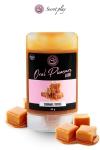 Lubrifiant comestible caramel toffee - Lubrifiant 100% comestible au parfum caramel toffee signé de la marque Espagnole Secret Play.