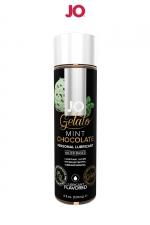 Lubrifiant aromatisé Menthe Chocolat - 120ml - Lubrifiant aromatisé comestible parfum Menthe-chocolat au format 120 ml de la marque Américaine System Jo.