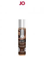 Lubrifiant aromatisé chocolat 30 ml - Lubrifiant aromatisé comestible parfum chocolat au format 30 ml de la marque Américaine System Jo.
