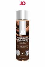 Lubrifiant aromatisé chocolat 120 ml - Lubrifiant aromatisé comestible parfum chocolat au format 120 ml de la marque Américaine System Jo.