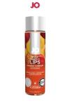 Lubrifiant aromatisé pêche 120 ml - Lubrifiant aromatisé comestible parfum pêche au format 120 ml de la marque Américaine System Jo.