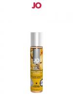 Lubrifiant aromatisé ananas 30 ml - Lubrifiant aromatisé comestible parfum ananas au format 30 ml de la marque Américaine System Jo.