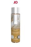 Lubrifiant aromatisé vanille 120 ml - Lubrifiant de la marque System Jo, fabriqué aux USA. Ce lubrifiant au format 30 ml est parfumé au goût de vanille. <br /><br /><b>Caractéristiques:</b><br />- Lubrifiant intime à base d'eau<br />- Comestible<br />- Plusieurs parfums différents<br />- Compatible avec les préservatifs<br />- Facile à nettoyer<br />- Sans sucre ajouté ni édulcorant<br />- Sans colorant<br />- Bouteille souple de 30 ml.<br />- Composition: à base de glycérine végétale pure et d'extraits d'arômes naturels<br />- Fabriqué aux USA<br />- Marque: System Jo