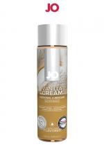 Lubrifiant aromatisé vanille 120 ml - Lubrifiant de la marque System Jo, fabriqué aux USA. Ce lubrifiant au format 30 ml est parfumé au goût de vanille. Caractéristiques:- Lubrifiant intime à base d'eau- Comestible- Plusieurs parfums différents- Compatible avec les préservatifs- Facile à nettoyer- Sans sucre ajouté ni édulcorant- Sans colorant- Bouteille souple de 30 ml.- Composition: à base de glycérine végétale pure et d'extraits d'arômes naturels- Fabriqué aux USA- Marque: System Jo