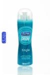 Durex Play Frissons - Gel lubrifiant intime Durex à effet frissons: fraîcheur intense, chatouillements et nouvelles sensations.