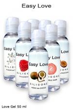 Love Gel parfumé 50 ml - Gel 2 en 1  made in france  et haute qualité (lubrification et massages)7 parfums au choix.