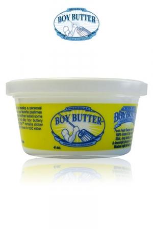Lubrifiant Boy butter 4 oz : Mieux que le petit chaperon rouge, le petit pot de cr�me Boy Butter original, le lubrifiant extr�me � base d'huile.