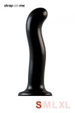 Dildo point P et G taille S - Strap On Me - Gode 100% silicone hommes et femmes, taille S, conçu pour stimuler le point G ou le point P, compatible harnais Strap-On-Me.