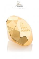 Stimulateur vibrant Twenty One - Un stimulateur vibrant en forme de diamant, dédié au plaisir clitoridien.