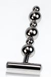 Plug métal Thruster - Un sextoy tout en métal pour une utilisation anale ou vaginale.