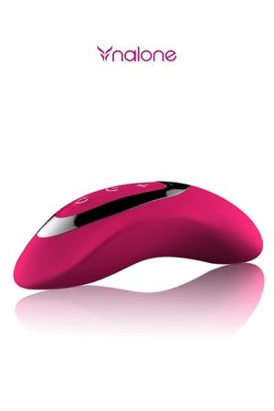 Masseur intime Curve - stimulateur intime haute qualit� avec contr�le tactile de l'intensit� des vibrations.