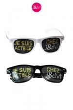Lunettes Jacquie & Michel Actrice : Après les lunettes Je suis acteur chez J&M, il paraissait inconcevable de ne pas vous proposer les lunettes Actrices.