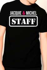 Tee-shirt Jacquie et Michel Staff