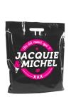 Sac Jacquie et Michel - Sac plastique Jacquie & Michel bio-dégradable, dimensions 450 x500 mm.