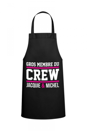 Tablier Jacquie & Michel Crew