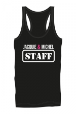 Débardeur homme J&M Staff - Marcel Jacquie & Michel Staff pour mettre en valeur vos muscles saillants et impressionner votre entourage !