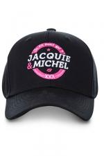 Casquette officielle Jacquie et Michel n°2 - Casquette On dit merci qui? avec logo J&M rond, pour permettre aux initiés (nombreux) d'afficher leur passion commune.