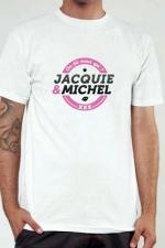 T-shirt Jacquie & Michel n°1 - Le Tee-shirt exclusif à l'effigie de  Jacquie & Michel, votre site amateur préféré.