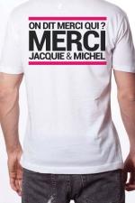 T-shirt Jacquie & Michel n°6 - Le Tee-shirt exclusif (visuel 6) à l'effigie de  Jacquie & Michel, votre site amateur préféré.