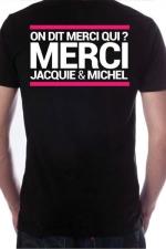 T-shirt Jacquie & Michel n°7 - Le Tee-shirt exclusif (visuel 7) à l'effigie de  Jacquie & Michel, votre site amateur préféré.
