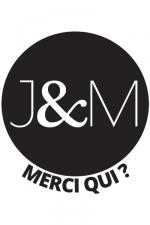 Tattoos J&M (x5) - Pack de 5 tatouages éphémères (dimensions 3,8 x 3,8 cm) reproduisant le célèbre logo de Jacquie et Michel.