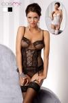 Guêpière Marcelle - Guêpière romantique, harmonie de tulle et dentelle pour une lingerie délicate et féminine.