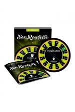 Sex roulette Foreplay - Mettez un peu de piment dans votre vie amoureuse en jouant à la sex roulette et ses 24 défis érotiques.