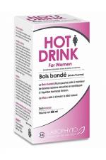 HOT DRINK Femme bois bandé 250 ml - Complément alimentaire aphrodisiaque pour femme permettant de stimuler le désir sexuel.