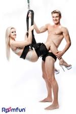 Balançoire spinning swing - Une balançoire dédiée à vos ébats amoureux, pour effectuer les positions sexuelles les plus audacieuses.