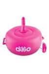 Siège gonflable vibrant Hot Seat - Dillio - Solide sexe machine gonflable et vibrante, fournie avec 2 godes réalistes, pour des chevauchées torrides, marque Dillio.