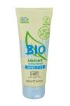 Lubrifiant HOT BIO Sensitive 100 ml  - Lubrifiant bio à base d'eau, 100% vegan, spécialement conçu pour les femmes avec une peau sensible. Tube 100 ml.