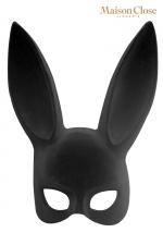 Masque lapin avec pompon - Maison Close - Masque érotique lapin et pompon clipsable pour attiser le désir tout en laissant planer le mystère.