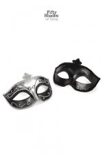 Lot 2 masques vénitiens - Fifty Shades of Grey - Mask on, deux masques derrière lesquels s'abriter pour donner libre court à vos fantasmes.