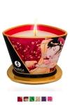 Bougie de massage Shunga (170 ml) - Ce produit unique sert à la fois de chandelle pour créer une ambiance parfumée ainsi qu'une huile à massage.