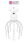 Head Relax Vibra Massager Deluxe - Masseur de tête vibrant en métal pour de douces sensations.