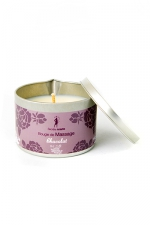 Bougie de massage parfum Chocolat - Bougie de massage parfum Chocolat fabriquée en France pour des moments sensuels.