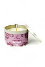 Bougie de massage zen Attitude - Bougie de massage parfum Zen Attitude fabriquée en France pour des moments sensuels.