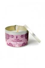 Bougie de massage Ananas-Mangue - Bougie de massage parfum Ananas-Mangue fabriquée en France pour des moments sensuels.